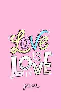 Wallpaper Love Is By Gocase