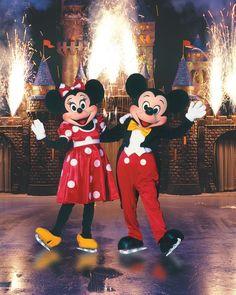 Disney Sur Glace - Minnie & Mickey