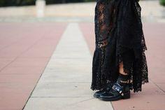Balenciaga boots. #streetchic