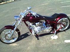 FOR SALE 2005 Big Dog Pitbull Pro Street Custom Chopper Motorcycle 5,211...
