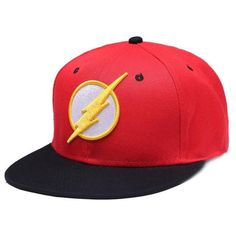 Animation cartoon adult Flash Snapback embroidery caps men and women Baseball Cap