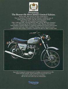 Triumph Bonneville 750 T140E My second bike..JK