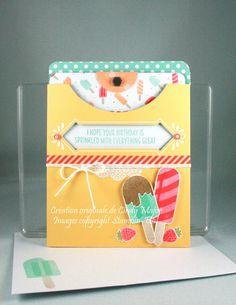 Pretty Pocket Card Kit_Cool Treats_Cindy Major