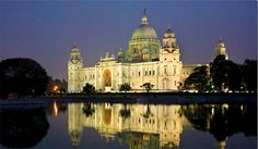 Victoria Memorial Located in Kolkata