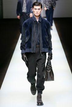Giorgio Armani Autumn/Winter 2018 Menswear