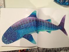 Millie Marotta's Tropical World - Whale Shark