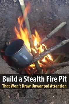 Build a Stealth Fire Pit That Won't Draw Unwanted Attention