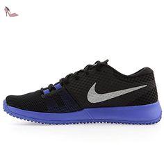 Flex Contact GS, Chaussures de Fitness Garçon, Noir (Black/White/Racer Pink), 38.5 EUNike