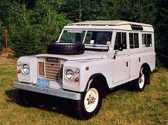 if I ever get to travel the back roads with the family, this would be it. Land Rover Car, Land Rover Defender, Land Rovers, Land Rover Series 3, Best 4x4, Off Road, Expedition Vehicle, Station Wagon, Cool Trucks