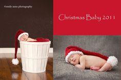 CROCHET PATTERN Newborn Long Christmas Hat Photo by Tanyastangles, $3.99