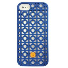 Tory Burch iPhone 5 Silicone Case Kelsey Perforated Navy Blue