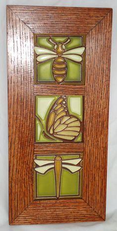 Craftsman style tile on pinterest arts crafts art for Craftsman style prints