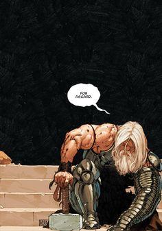 Thor the god thunder