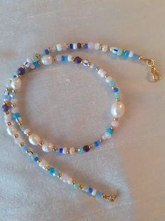 Diy Jewelry Rings, Handmade Wire Jewelry, Cute Jewelry, Jewelery, Jewelry Accessories, Cool Necklaces, Beaded Necklaces, Beaded Jewelry, Purple Necklace