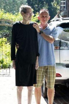 The last living photo of Steve Jobs.