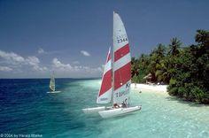 Katamaran Segeln in Thailand, Malediven, Karibik