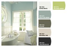 Beautiful bathroom or bedroom colors ... Paint colors from Chip It! by Sherwin-Williams