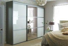 Sliding glass and mirror wardrobe doors