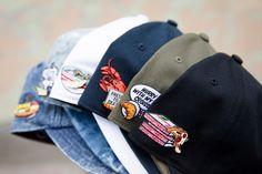 A companhia especializada em pins (broches), PINTRILL, colaborou com a marca de bonés americana '47 em pack inspirado por pratos internacionais.  #pintrill #streetwearbr