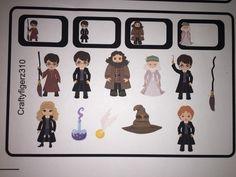 Erin Condren Harry Potter Planner Stickers by Craftyfingerz310