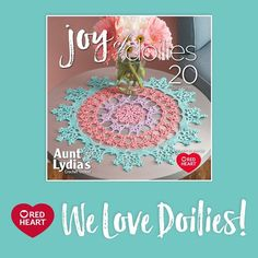 We Love Doilies! -- In hopes that many of you are looking for a cotton crochet project to relax with during the summer months, we've collected our favorite doily patterns into this look book.