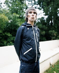 Ian Brown of Stone Roses