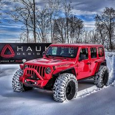 Red Jeep, Jeep Jl, Jeep Truck, Suv Cars, Jeep Wrangler Rubicon, Jeep Wrangler Unlimited, Jeep Photos, Badass Jeep, Kit Cars