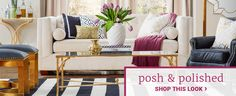 Glam Furniture & Decor | Joss & Main
