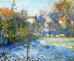 Frost - Claude Monet  1875