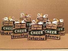 Best Hobbies For Retirees Cheer Coach Gifts, Cheer Coaches, Cheer Gifts, Cheer Mom, Camp Gifts, Diy Gifts, School Cheerleading, Cheerleading Gifts, Softball Gifts