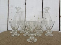 12 Vintage Anchor Hocking Candlewick Boopie Juice/Sherry Glasses by OpenTwentyFourSeven on Etsy