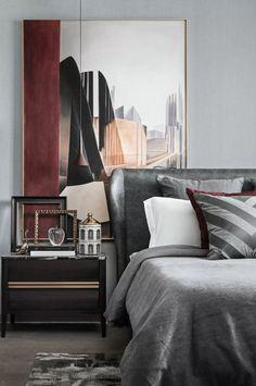 Luxury Homes - Interior Design - Home Furnishings Contemporary Bedroom Sets, Modern Bedroom, Bedroom Classic, Contemporary Kitchens, Luxury Homes Interior, Home Interior Design, Fall Bedroom Decor, Bedroom Ideas, Budget Bedroom