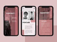 Zak Steele-Eklund on Behance Adobe Photoshop, Photoshop Web Design, Adobe Xd, Ui Design Mobile, Ios App Design, Desing App, Graphisches Design, Design Layouts, Web Layout