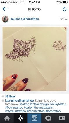 this would be a cute sternum jeweled tattoo