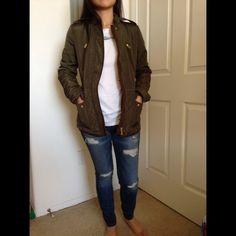 Additional pictures - Zara Khaki Utility Jacket Additional pictures - brand new without tags Zara Jackets & Coats Utility Jackets