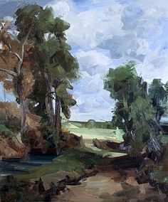artnet Galleries: Landscape (Constable) by Tai-Shan Schierenberg from Flowers