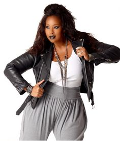Plus Size 80s Fashion Hip Hop in Plus Size Fashion