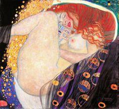 Gustav Klimt, Danaë (1907)