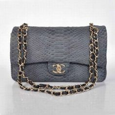 G28672 Cheap Chanel 2.55 Bags 0027 In Alligator Mazarine Gold Chain