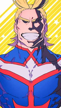 - Boku no Hero Academia - All Might