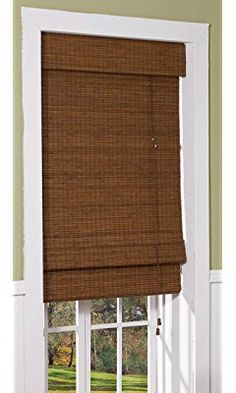 Radiance 0216200 Cape Cod Bamboo Roman Shade, 23-Inch Wide by 72-Inch Long, Maple
