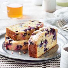 Blueberry-Lemon Ricotta Pound Cake