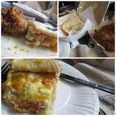 Yellow Cab's bacon and mango breakfast burrito