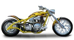 Orange County Choppers - #OCC - S & S Anniversary Bike