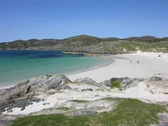 Achmelvich, on Sutherland's West Coast (Highlands) Beaches Near Me, Felt Pictures, Planet Earth, Beautiful Landscapes, West Coast, Britain, Beautiful Places, To Go
