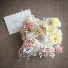 #CHOIMOON #artisan_flower #초이문  #wedding_course #ringpillow
