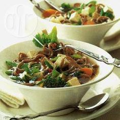 Teriyaki-style noodles with tofu recipe - All recipes UK