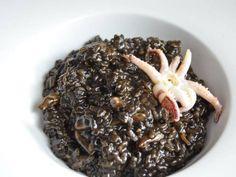 Fabulosa receta para Risotto nero.