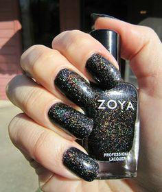 Concrete and Nail Polish: Zoya Storm