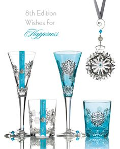 Waterford Crystal Snowflake Wishes - 2018 Happiness